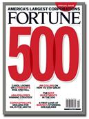 A Fortune 500 magazine cover.
